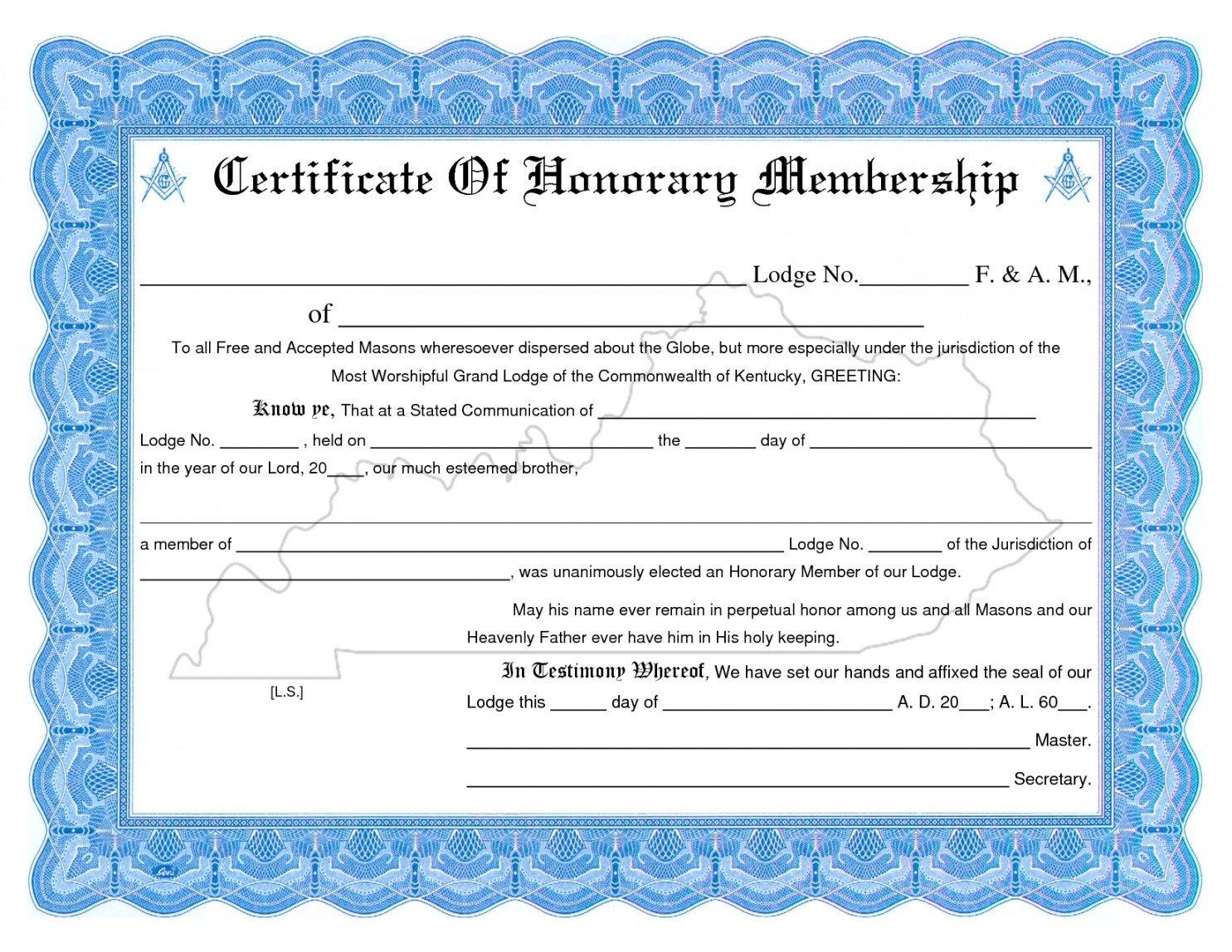 Llc Membership Certificate Template Editable Membership Certificate Template Llc New Church