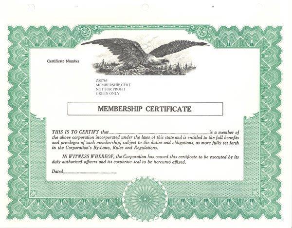 Llc Membership Certificate Template Standard Stock Certificates Samples