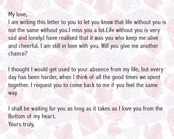 Love Letter to Girlfriend Love Letters for Girlfriend to Impress Her