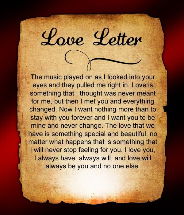 Love Letters for Him Love Letters for Him 36