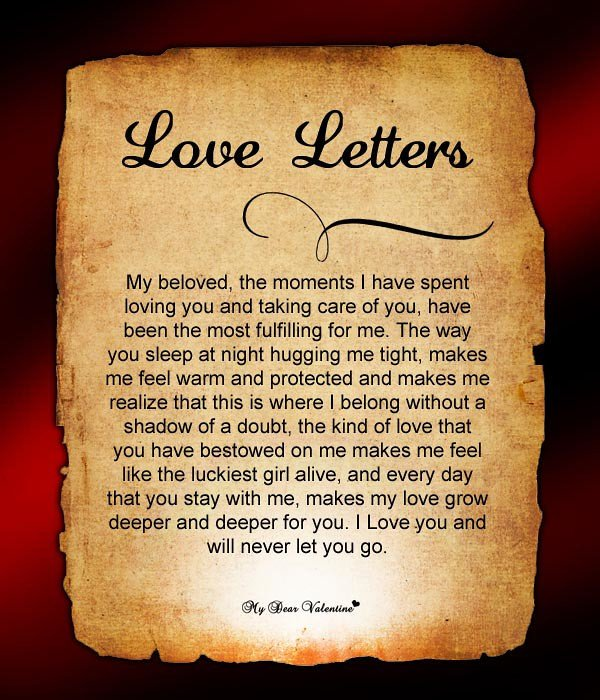 Love Letters for Him Love Letters for Him Love Letters for Him