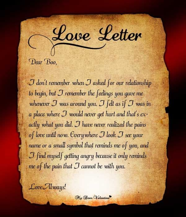 Love Letters for Him Send This Love Letter to Him