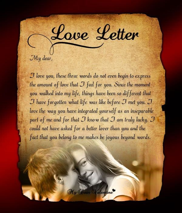 Love Letters for Him Send This Love Letter to Him to Immerse Yourself In that