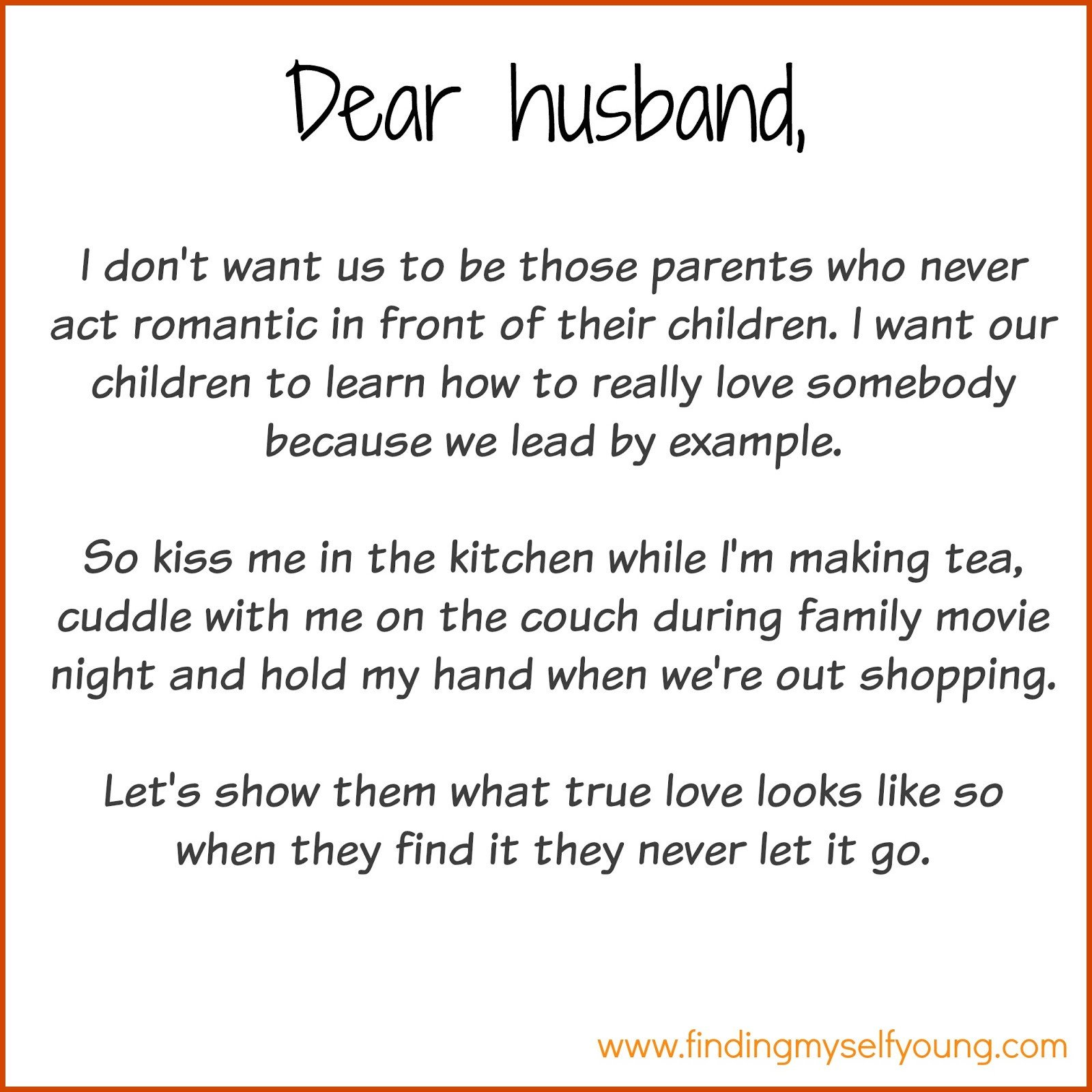 Love Letters for Husband Finding Myself Young December 2015