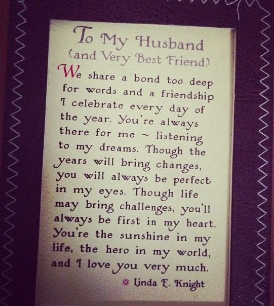 Love Letters for Husband I M One Lucky Woman to Have Such An Amazing Man In My Life