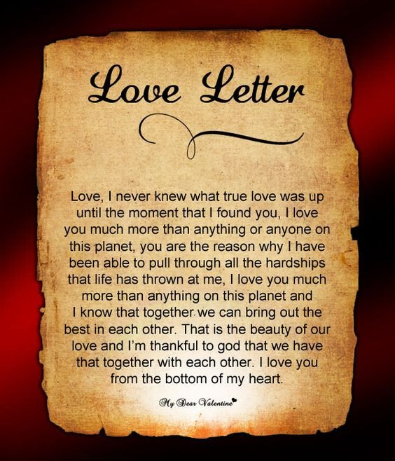 Love Letters for Husband Love Letter for Him 65 Love Letters for Him