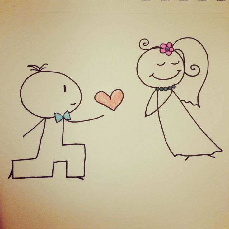 Love Pictures to Draw Cute Love Drawing Quotes and Drawings Pinterest