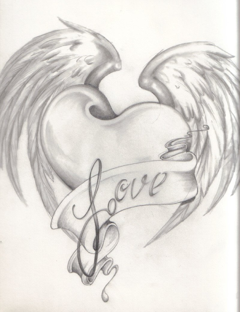 Love Pictures to Draw Love to Draw