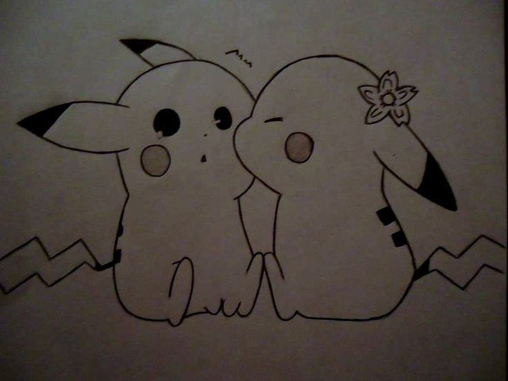 Love Pictures to Draw Pics for Pikachu Love Drawing Drawing