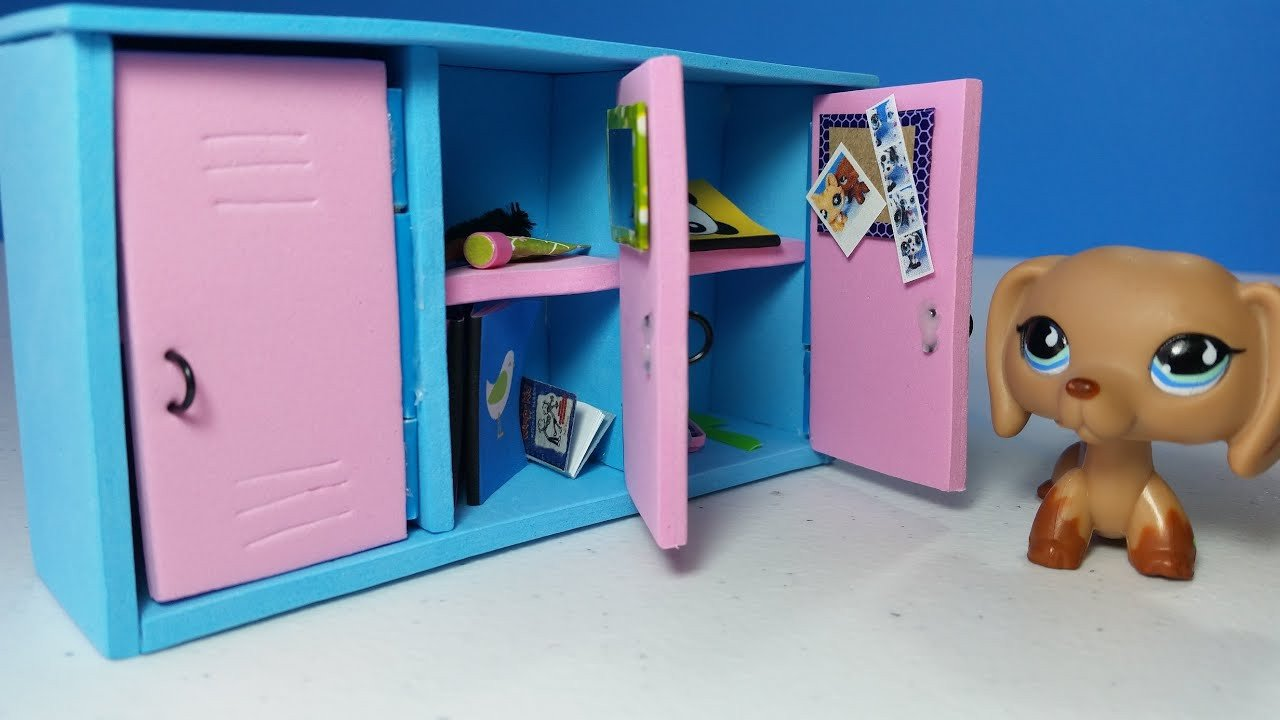 Lps Printables Lockers Diy Doll Lockers for Lps or Mlp