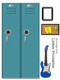 Lps Printables Lockers My Froggy Stuff Printable Doll Lockers that Open