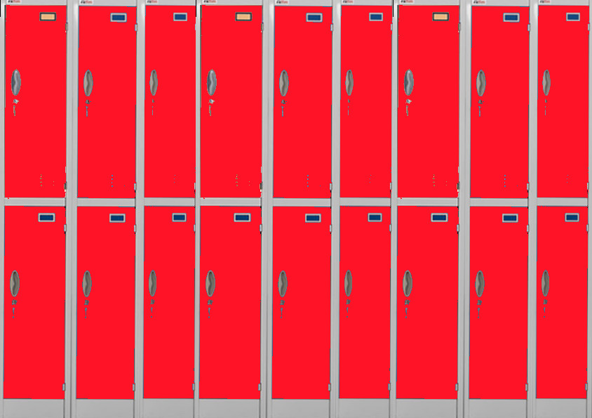 Lps Printables Lockers Red Lockers 03 by Flromantic