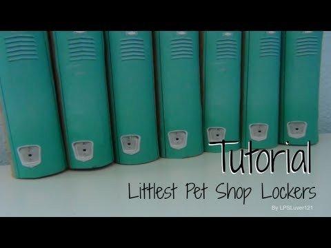 Lps Printables Lockers Tutorial Littlest Pet Shop Lockers