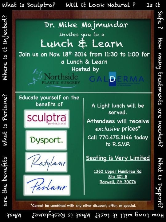 Lunch and Learn Invitations Dr Mike Majmundar Invites You to A Lunch & Learn Join