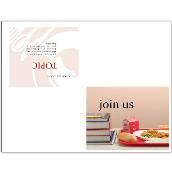 Lunch and Learn Invitations Free Business Lunch and Learn Invitation forms Options