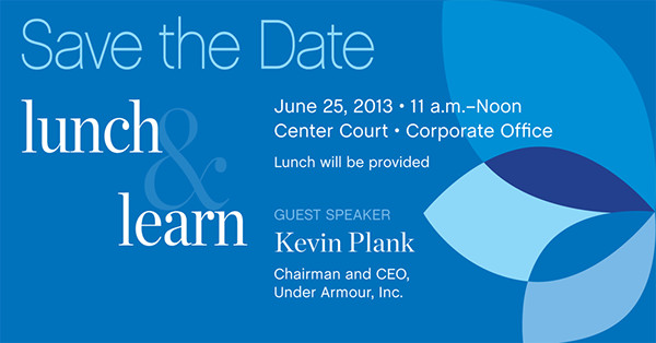 Lunch and Learn Invitations Lunch & Learn Invitation On Aiga Member Gallery