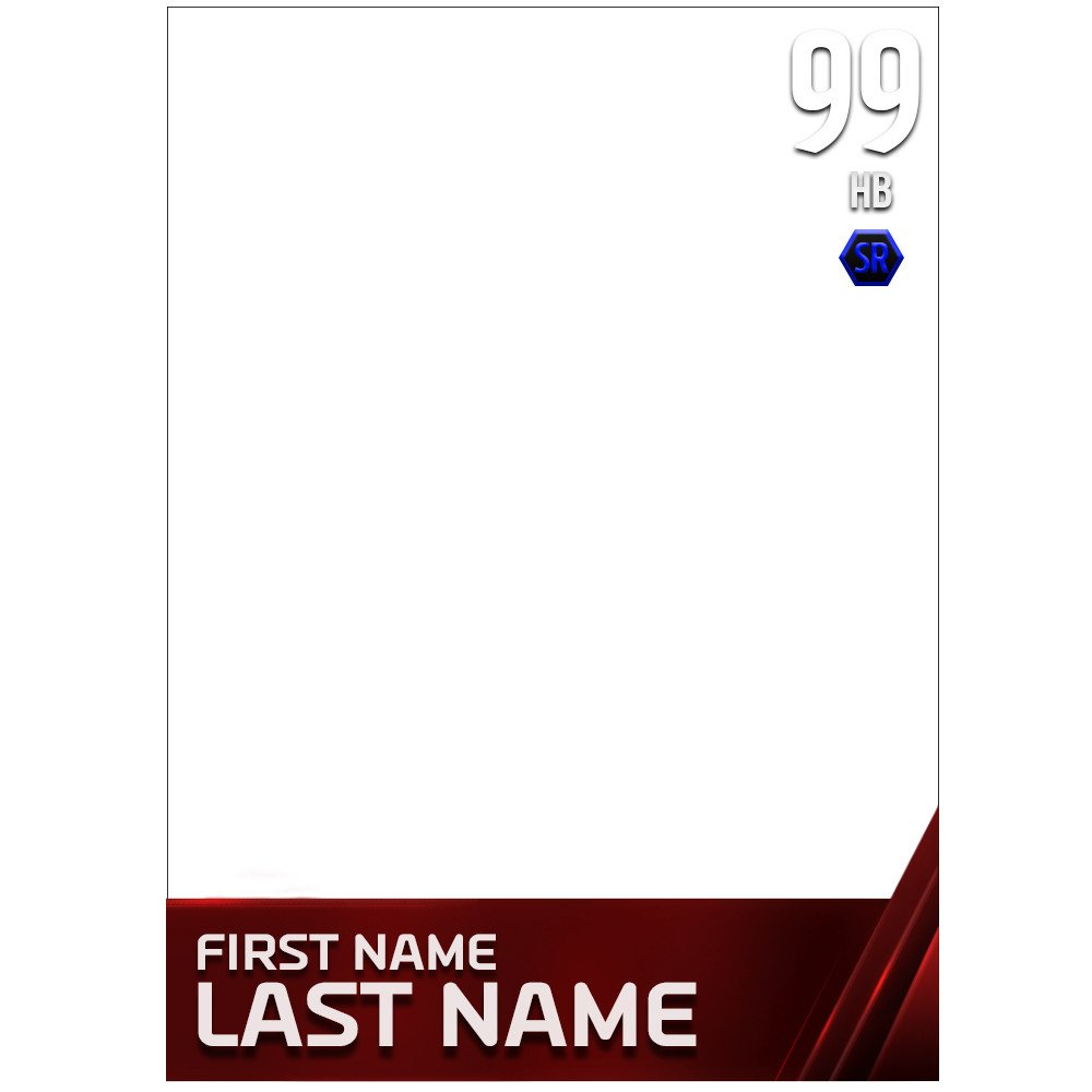 Madden Mobile Card Template Selling M15 Template and 2k Template High Quality