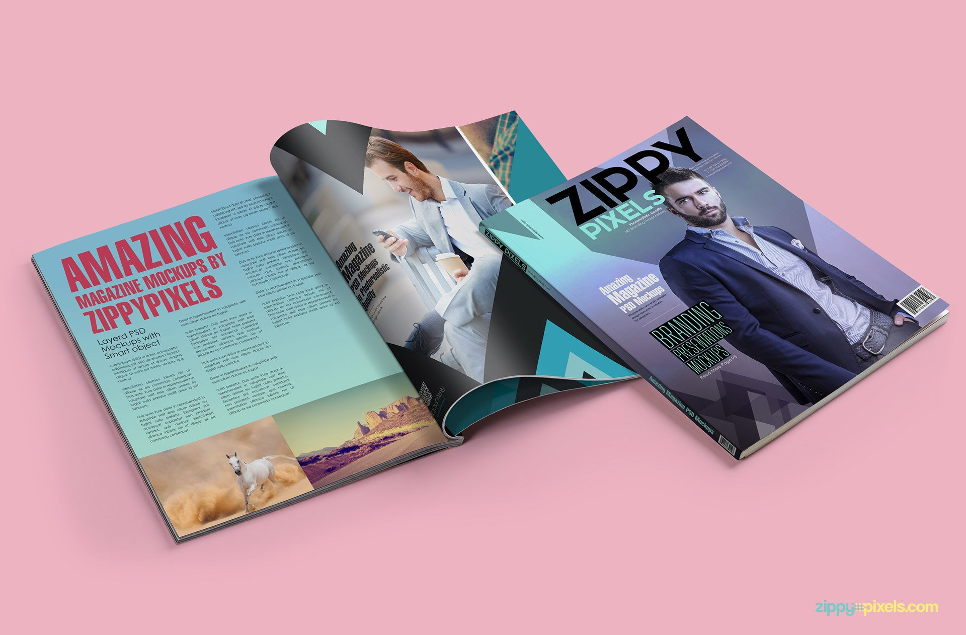 Magazine Cover Mockup Free 15 Amazing Psd Magazine Mockups for Cover & Ad Designs
