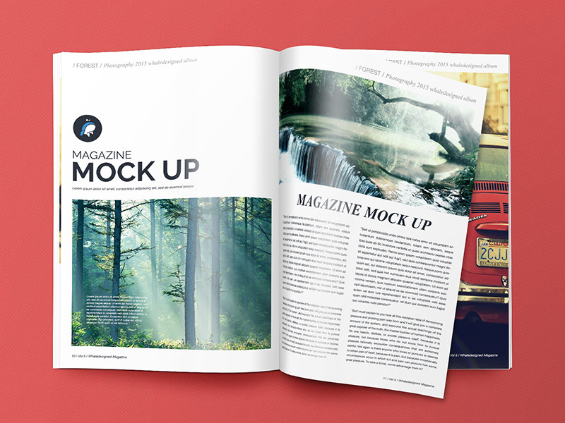 Magazine Cover Mockup Free 15 Free Psd Magazine Cover Page Designs Templates