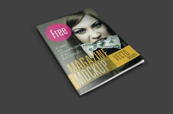 Magazine Cover Mockup Free 24 Magazine Mockup Templates Free Psd Download