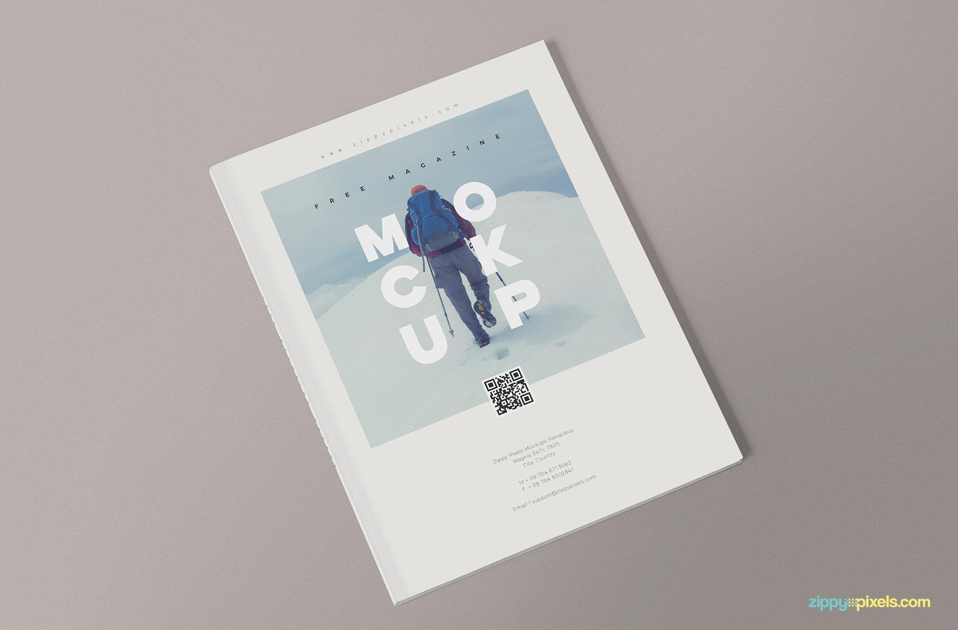 Magazine Cover Mockup Free 3 Free Magazine Mockup Templates