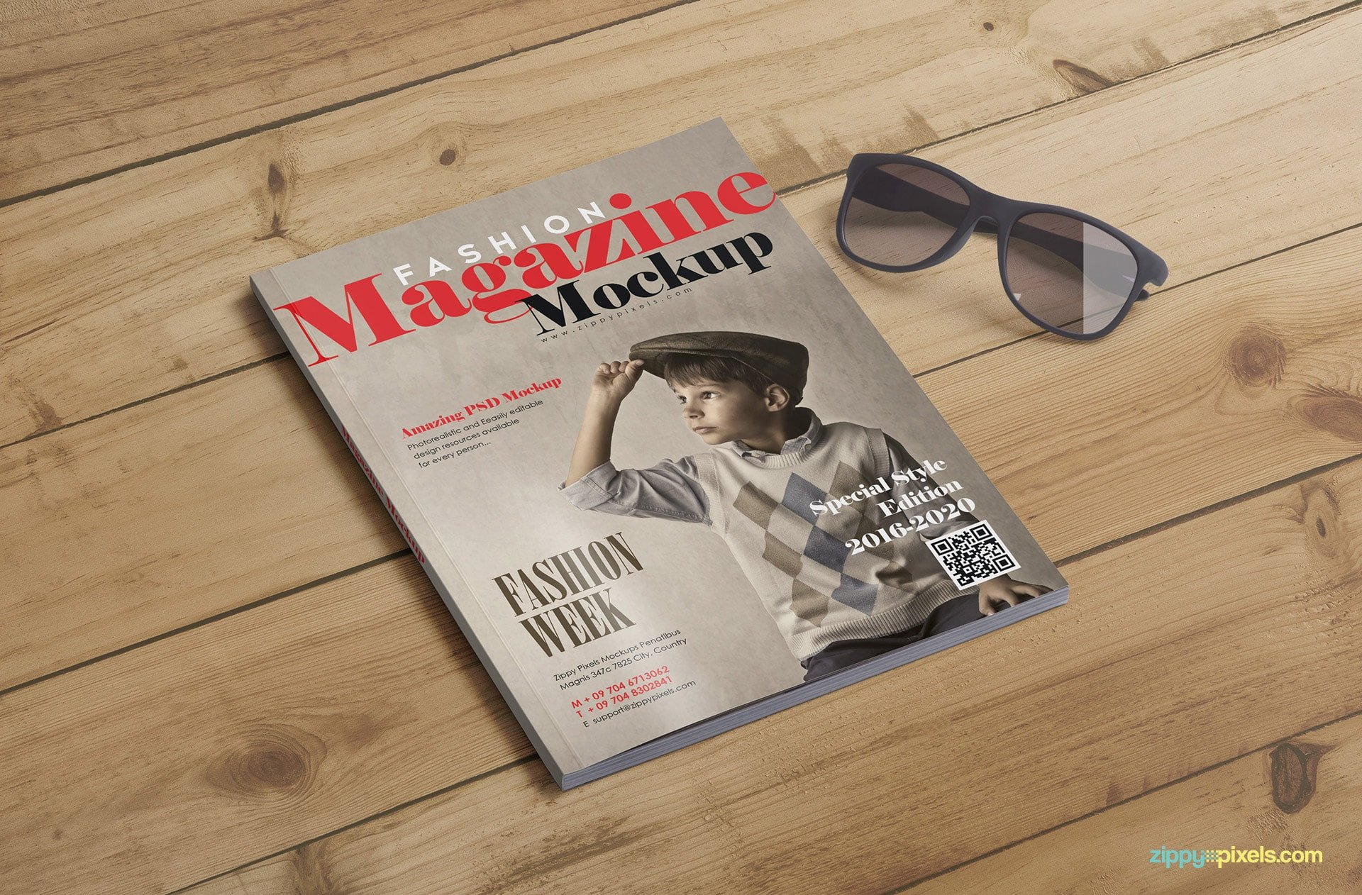 Magazine Cover Mockup Free Magazine Cover Mockups & Inner Page Mockups