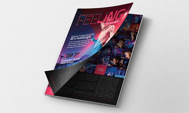 Magazine Cover Mockup Free Mockup Template – 78 Free Psd format Download