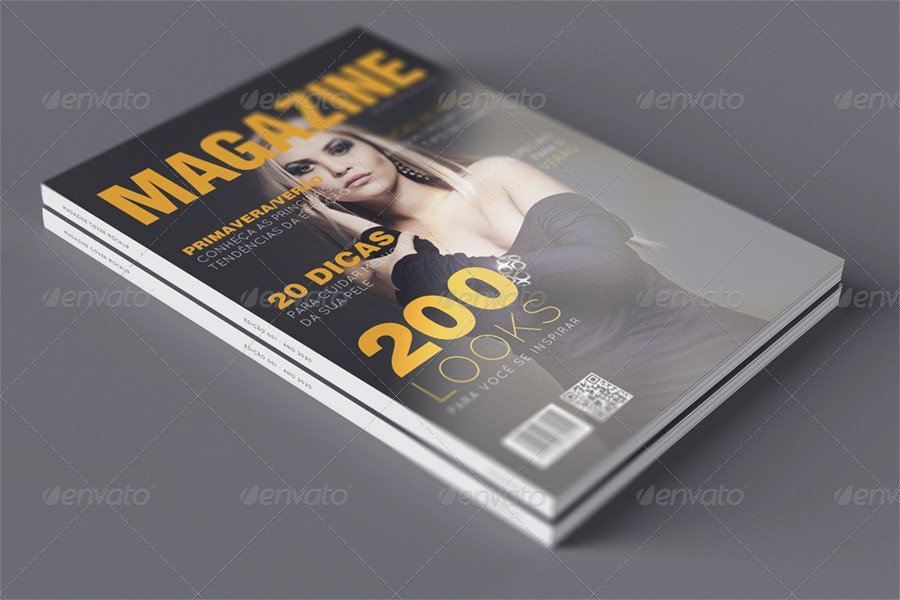 Magazine Cover Mockup Free Suavve Magazine Cover Mockup by Obsessivo