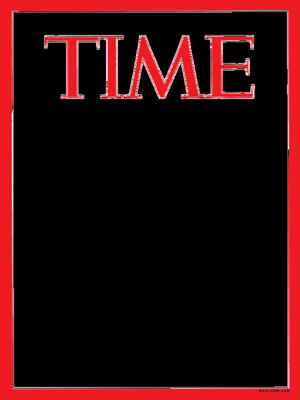 Magazine Cover Templates Free Time Magazine Template