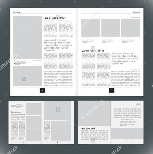Magazine Layout Templates Free Download 27 Of Magazine Background Template