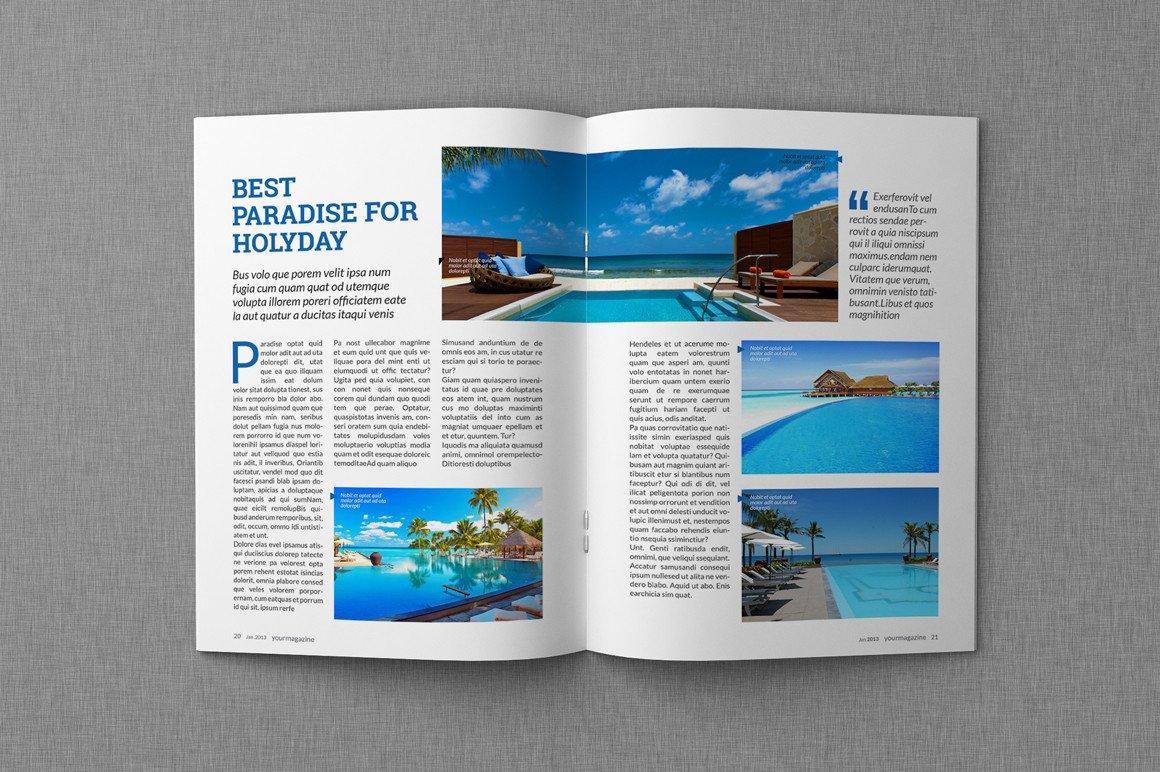 Magazine Layout Templates Free Download Magazine & Proposal Indesign Templates Dealjumbo