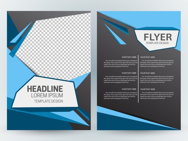 Magazine Layout Templates Free Download Magazine Layout Design Template Free Vector