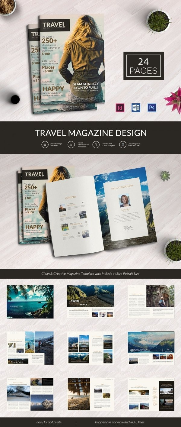 Magazine Template for Microsoft Word 55 Brand New Magazine Templates Free Word Psd Eps Ai
