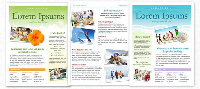 Magazine Template for Microsoft Word Eternalize Summer Memories with Your Own Magazine