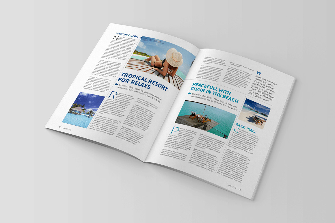 Magazine Template for Microsoft Word Magazine Templates Word Word Excel Samples