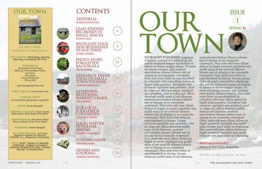 Magazine Template for Microsoft Word My New Microsoft Publisher Magazine Template