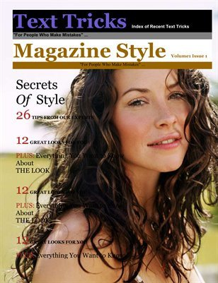 Magazine Template for Microsoft Word Template Magcloud Ma