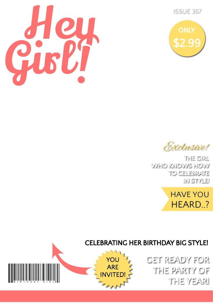 Magazines Cover Templates Free 31 Best Images About Birthday Party themes for Kids On