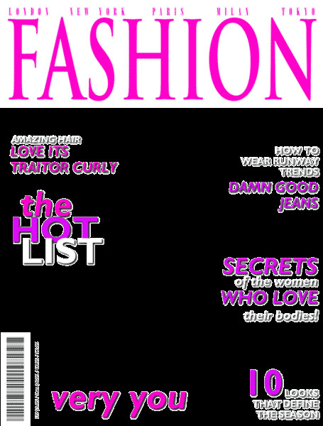 Magazines Cover Templates Free Magazine Cover Template