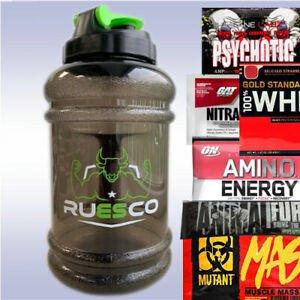 Mammoth P Free Sample Ruesco Mammoth Jug 2 5 L 2 Free Samples Water Bottle