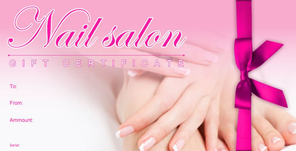 Mani Pedi Gift Certificate Template 20 Mother S Day Gift Ideas that Mums Will Adore