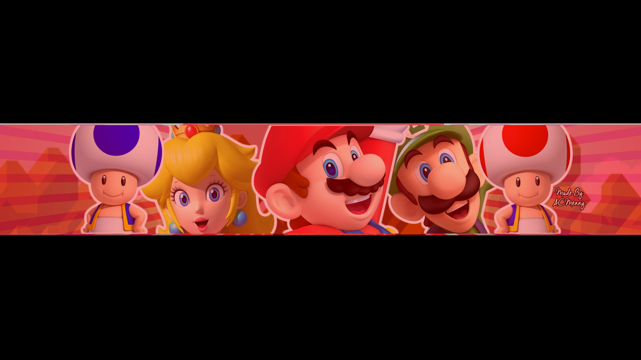 Mario Youtube Banner Free Super Mario Bannner by Acmenny On Deviantart