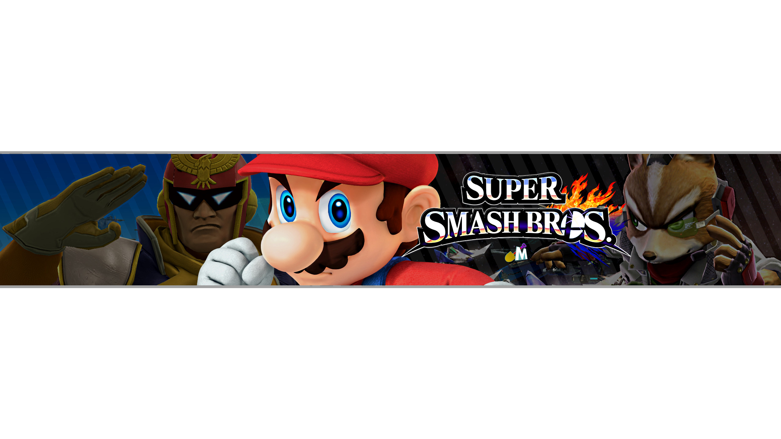 Mario Youtube Banner Free Super Smash Bros Banner by Acmenny On Deviantart