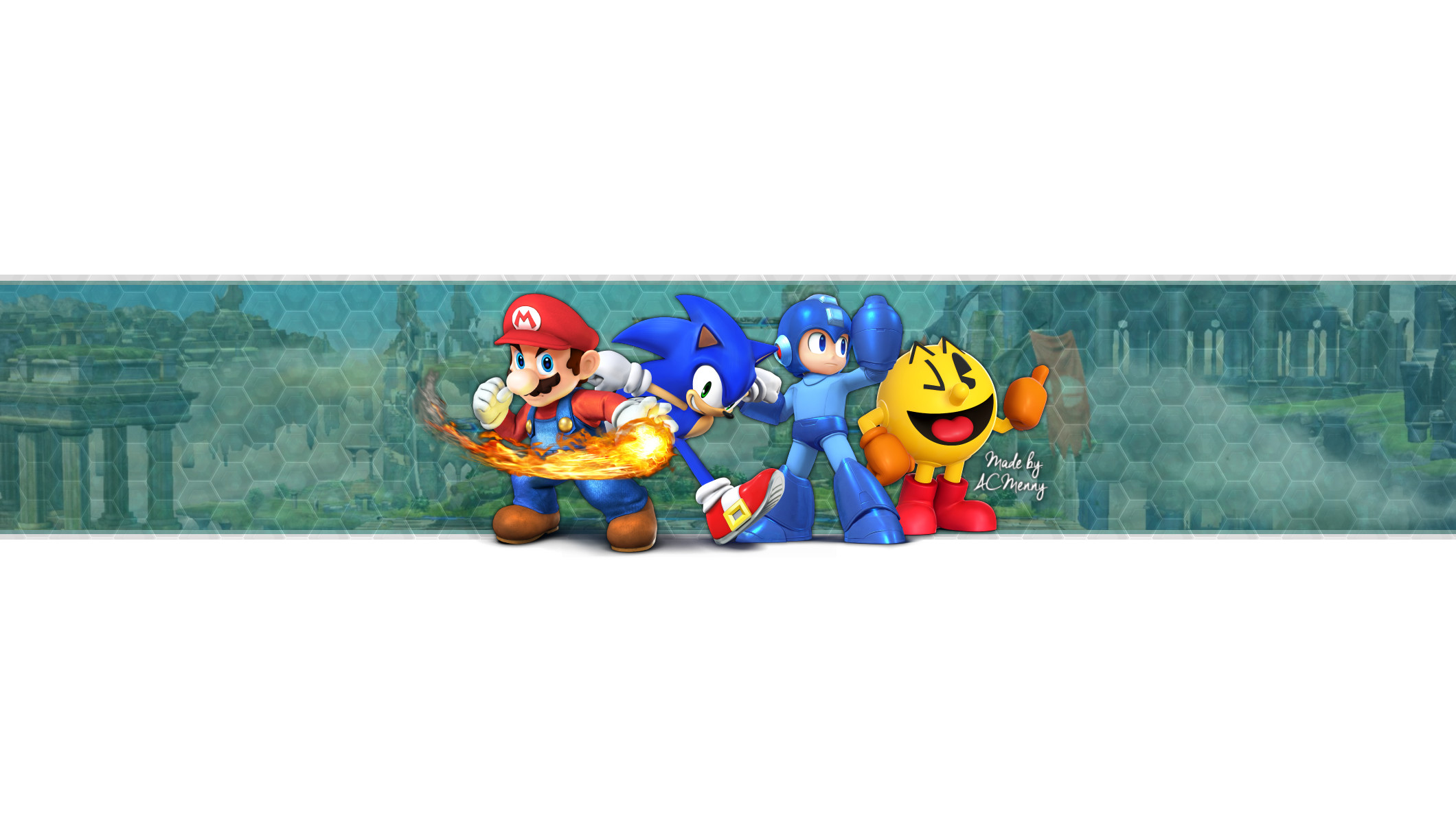 Mario Youtube Banner Free Super Smash Bros Wii U 3ds Banner by Acmenny