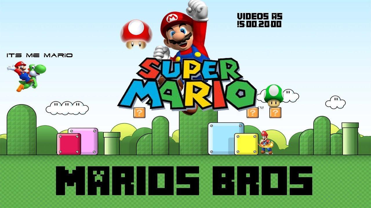 Mario Youtube Banner O Fazer Banner Do Mario