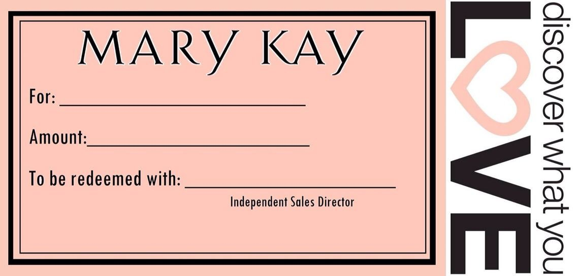 Mary Kay Gift Certificates Pdf Gift Certificates Mary Kay Gift Certificate