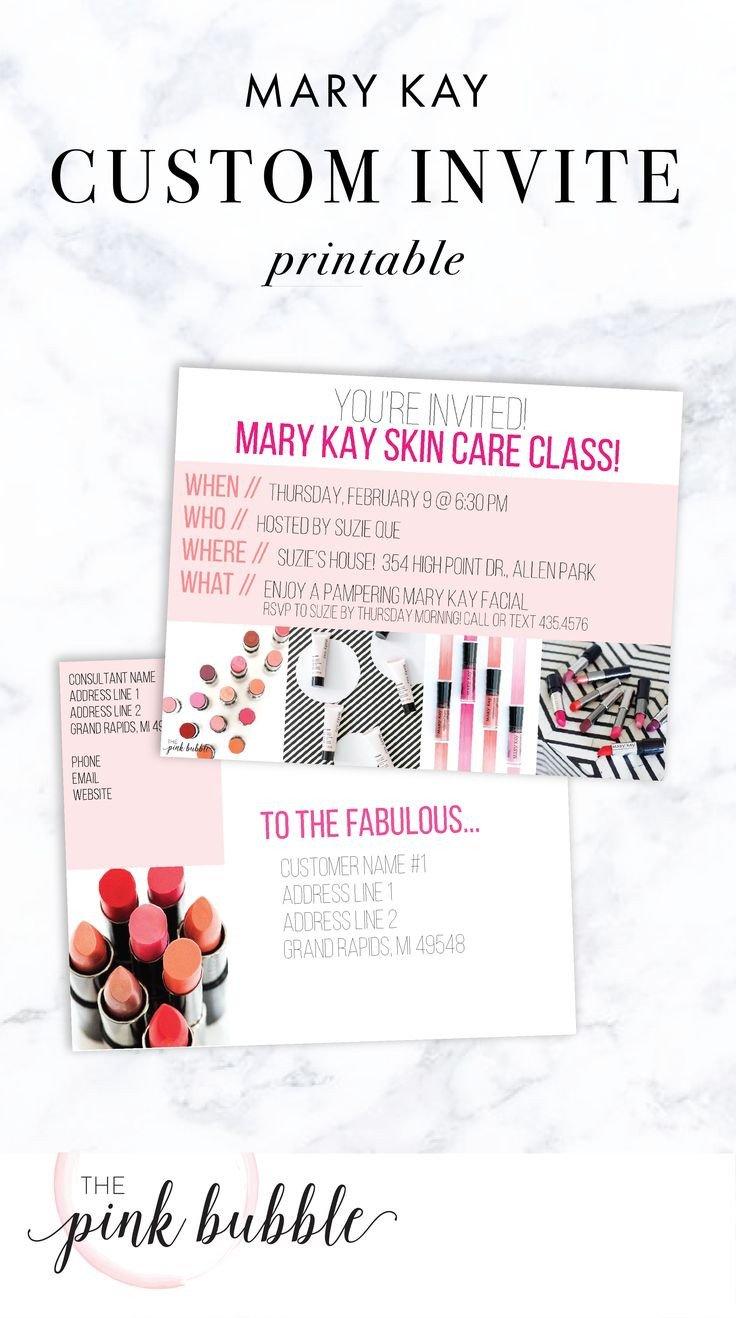 Mary Kay Invitation Templates 22 Best Mary Kay Invitations Images On Pinterest