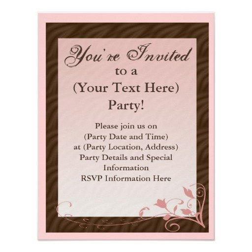 Mary Kay Invitation Templates Mary Kay Invitations