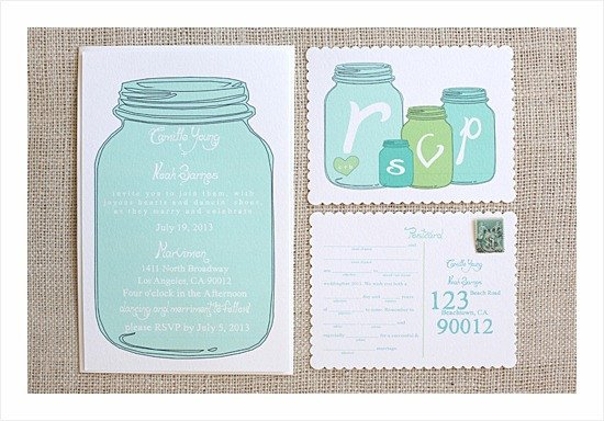 Mason Jar Invitation Template 10 Free Printable Wedding Invitations Diy Wedding