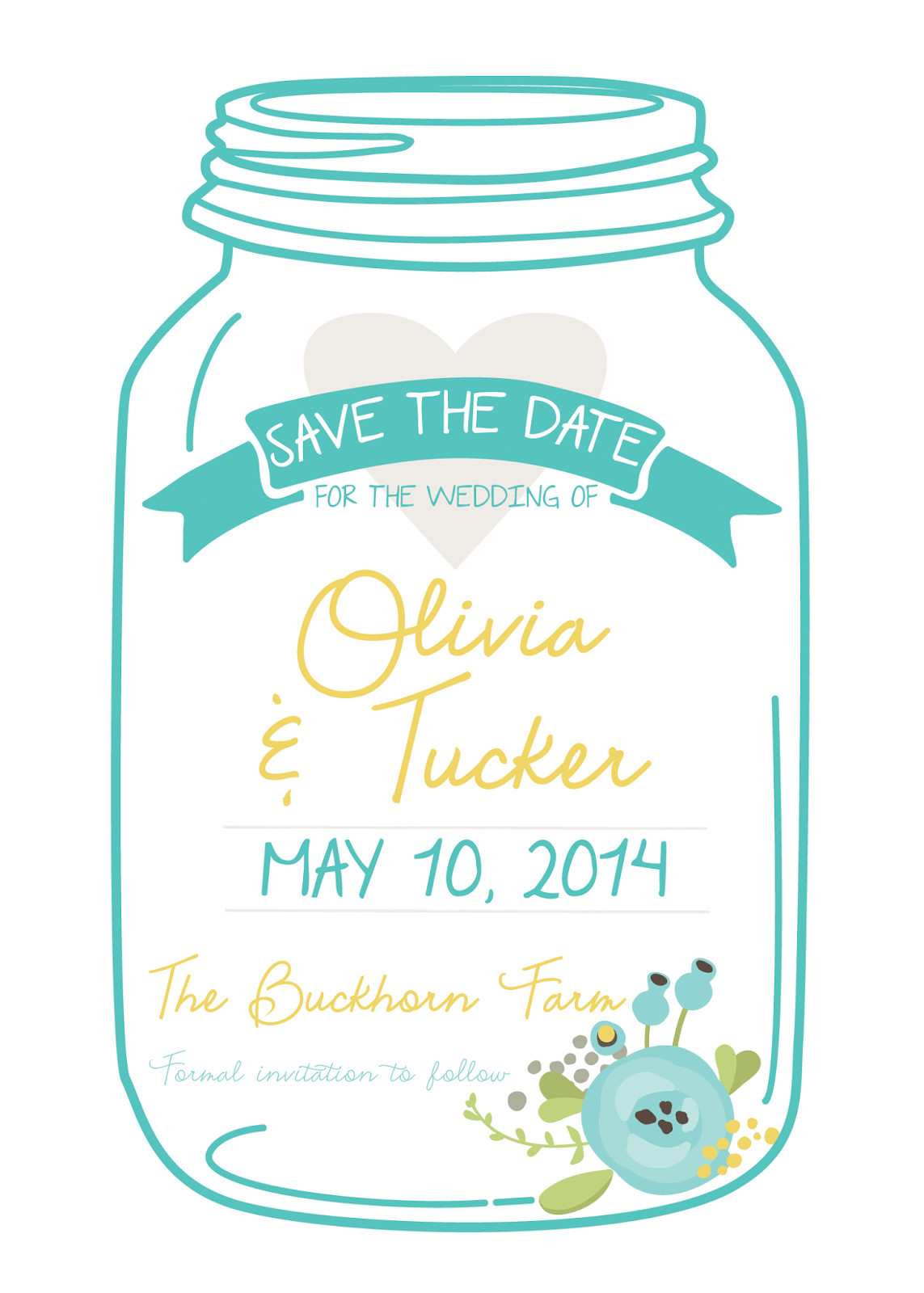 Mason Jar Invitation Template Free Mason Jar Invitation Templates